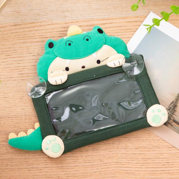 恐龍貓 立體造型 透明視窗 吸盤告示牌/臨時停車牌【222863】