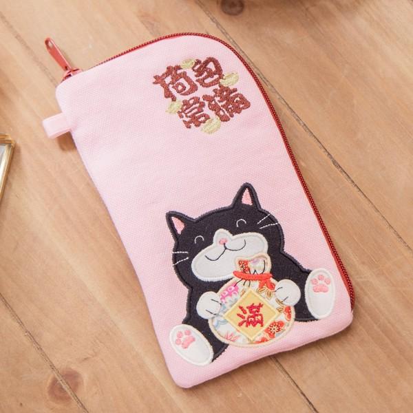 賓士貓 荷包常滿 3C收納/手拿包/手機包【820160】