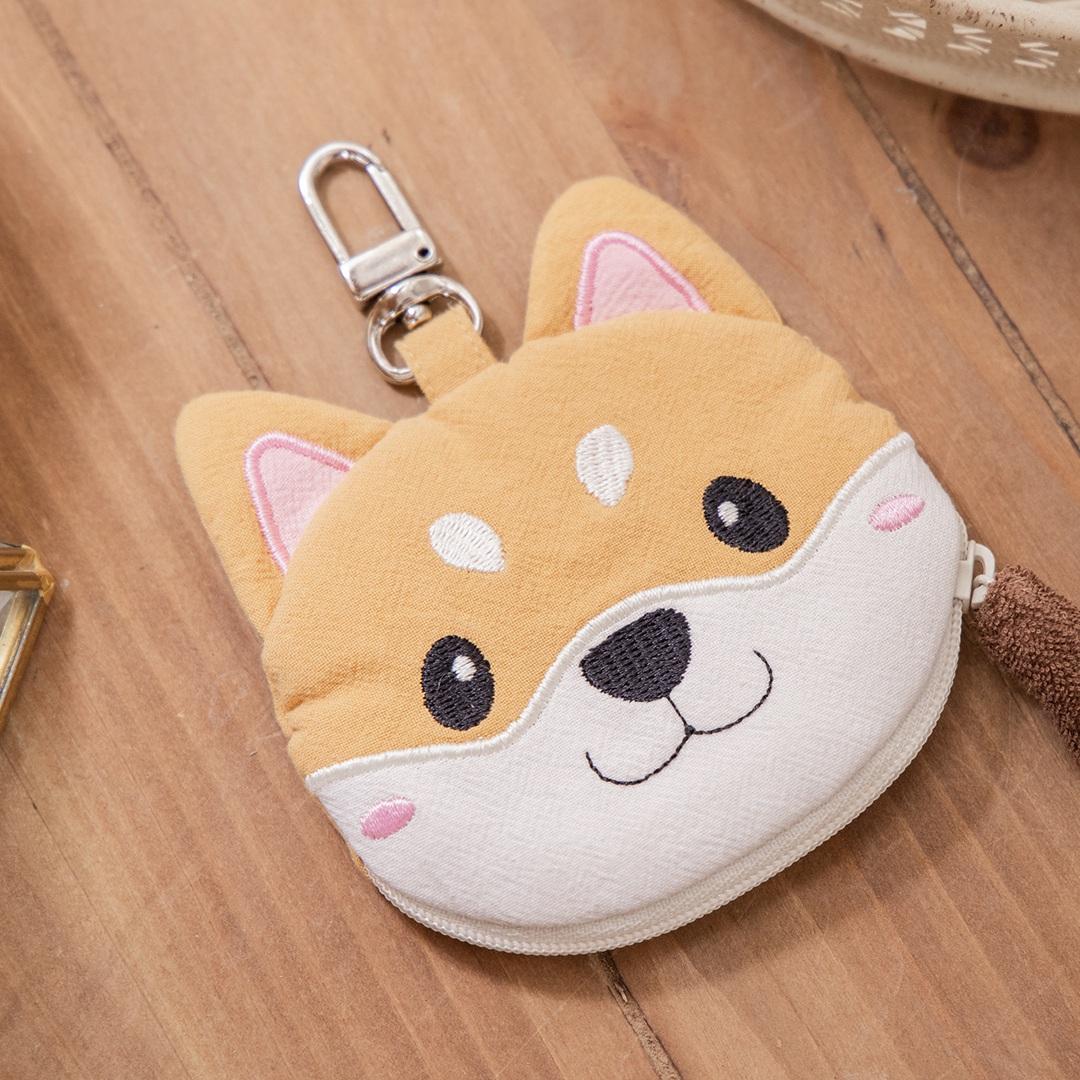 柴犬寶寶 造型 拉鍊 零錢包/小物收納包【820171067】