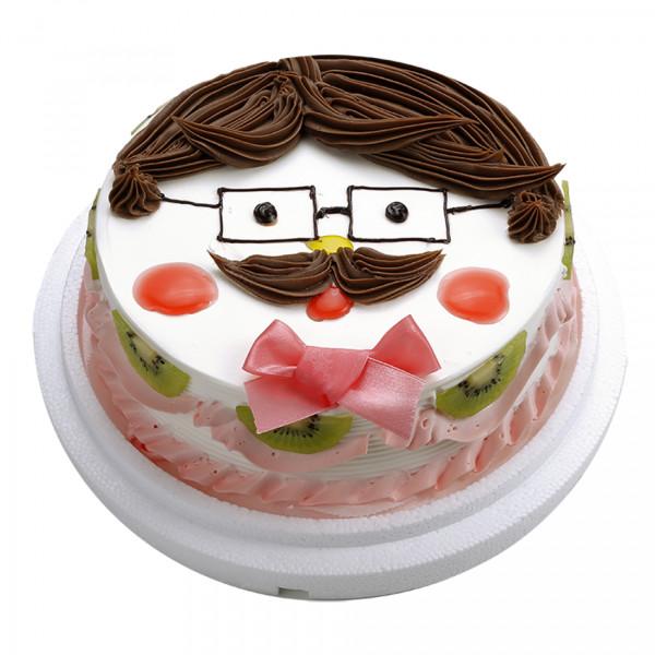 【喜之坊人物蛋糕】父親節