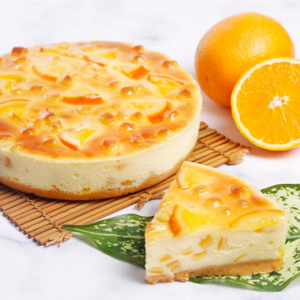 【喜之坊新品免運優惠】★ 新商品New★橙癮(美式香橙重乳酪) 6吋