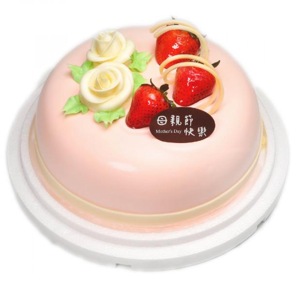 【喜之坊主題蛋糕】粉愛媽咪