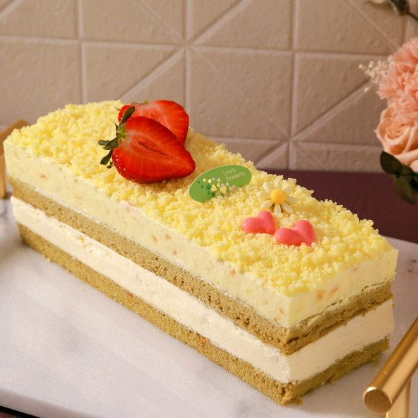 【喜之坊】檸檬柚香四季春蛋糕
