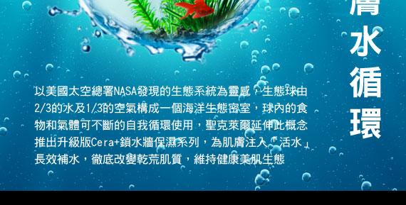 肌膚保濕水循環