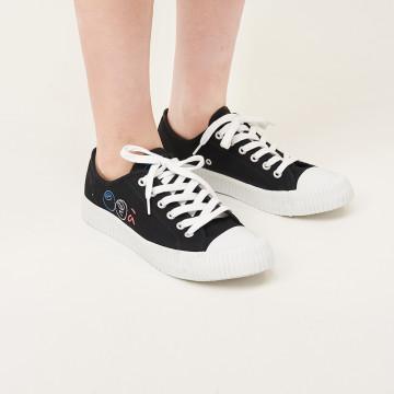 a la sha  抹茶餅乾帆布鞋