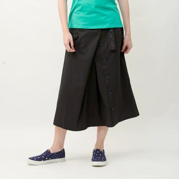 a la sha 狗狗造型口袋綁帶裙