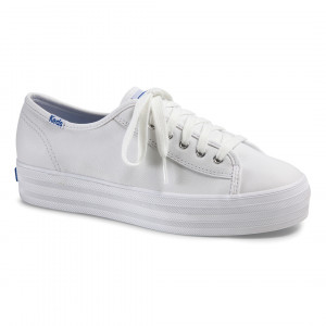 KEDS TRIPLE KICK CORE LEATHER-白