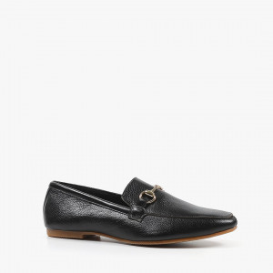 ALL BLACK Link Loafer 樂福鞋 (黑色)