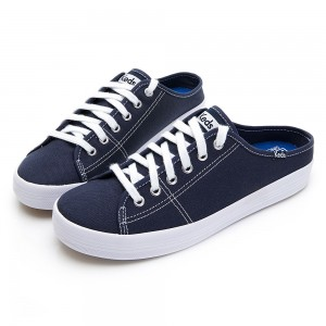 KEDS KICKSTART MULE CORE CANVAS-海軍藍