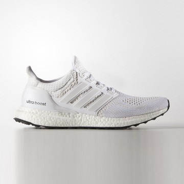 ADIDASUltra boost 1.0跑鞋 白 S77416
