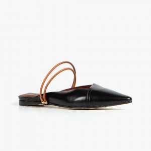 ALL BLACK D Cord Sandal (黑色)