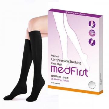 Medfirst醫療彈性襪(小腿襪/220D/黑)