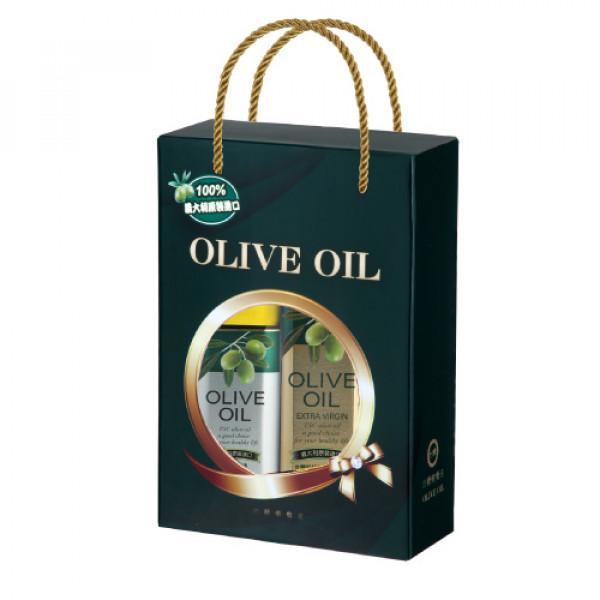 【台糖】台糖富貴橄欖油禮盒(特級初榨橄欖油750ml+橄欖油1L)(G923001)