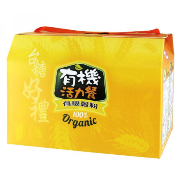 【台糖】台糖有機穀粉禮盒2入(9837D)