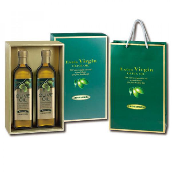 【台糖】台糖特級初榨橄欖油禮盒2入(9220)
