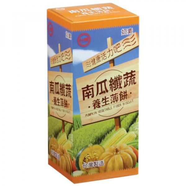 【台糖】台糖南瓜纖蔬養生薄餅(12盒/箱)(981B)