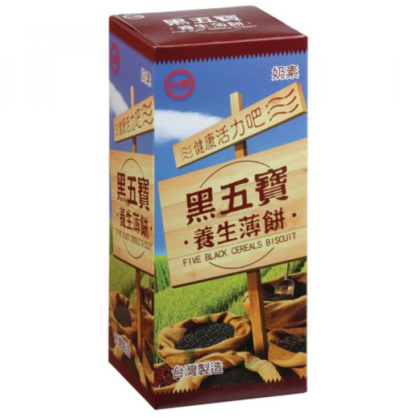 【台糖】台糖黑五寶養生薄餅(12盒/箱)(981D)