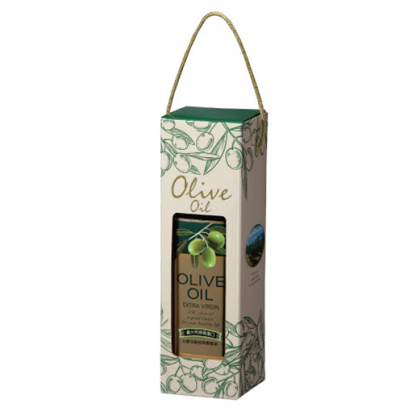 【台糖】台糖特級初榨橄欖油單瓶禮盒750ml(G923092)