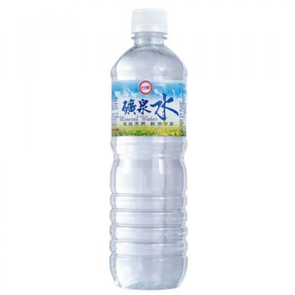 【台糖】台糖600cc礦泉水(24瓶/箱)(9145)(無法使用貨到付款)