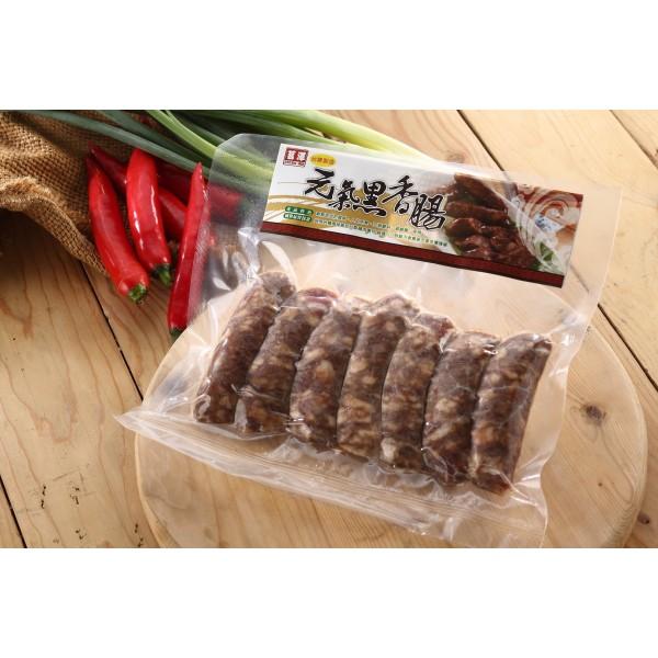 【茗澤】元氣黑香腸 (270g/包)-6包組