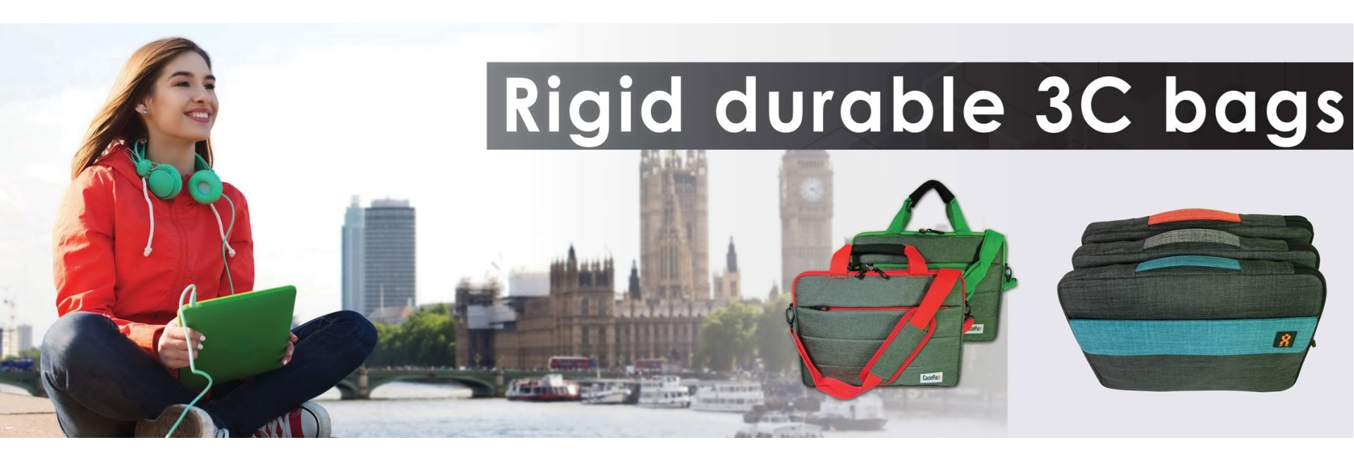 Rigid durable 3C bags