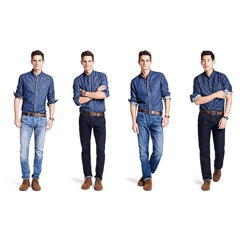 型男穿搭必學!3大訣竅教你挑對牛仔褲