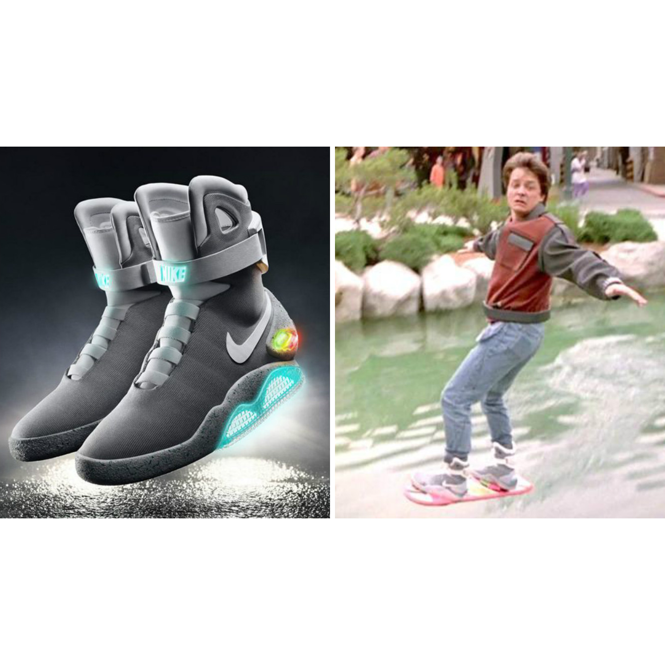 《Back to the Future II》Nike Air Mag 天價球鞋再創高價售出!