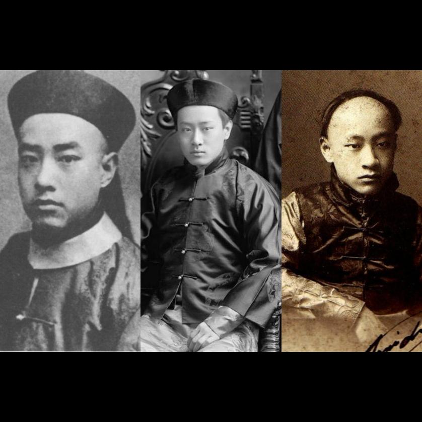 <p>網上熱話最帥歷史人物 晚清貴族愛新覺羅・載搏</p>
