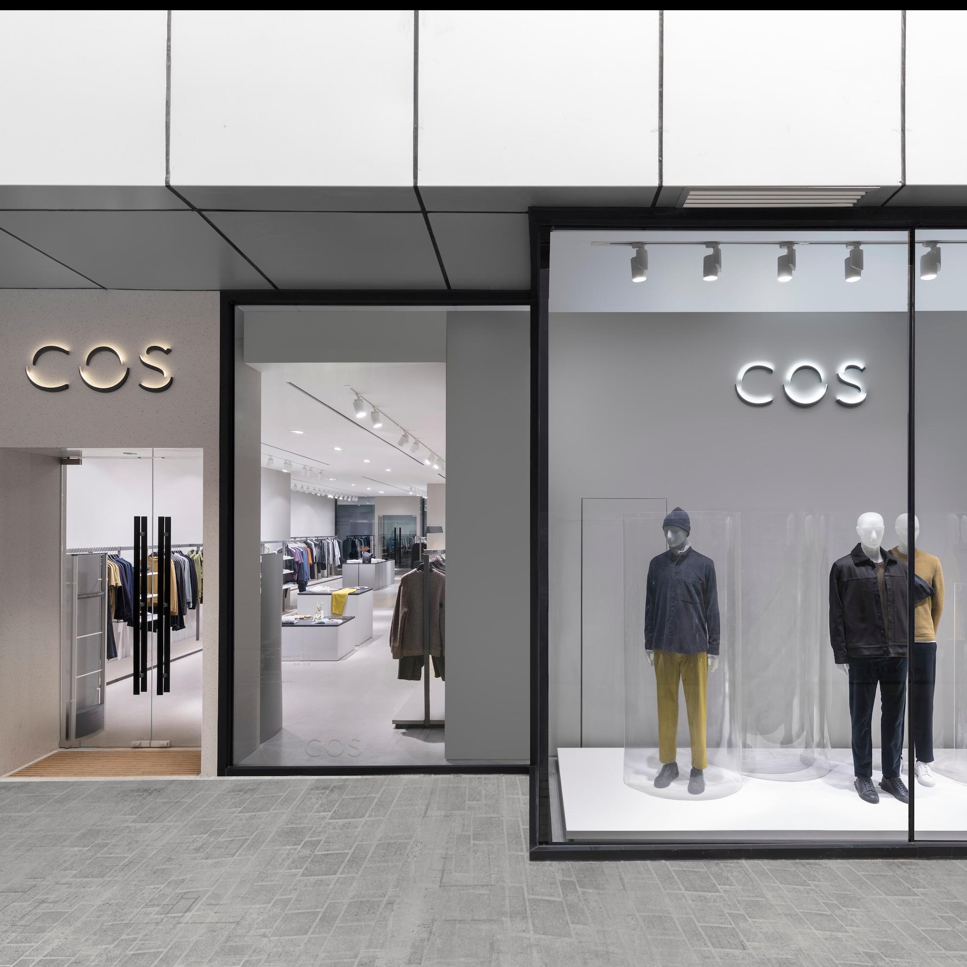 <p>男士又有新時裝據點 COS全球首間男裝專門店</p>