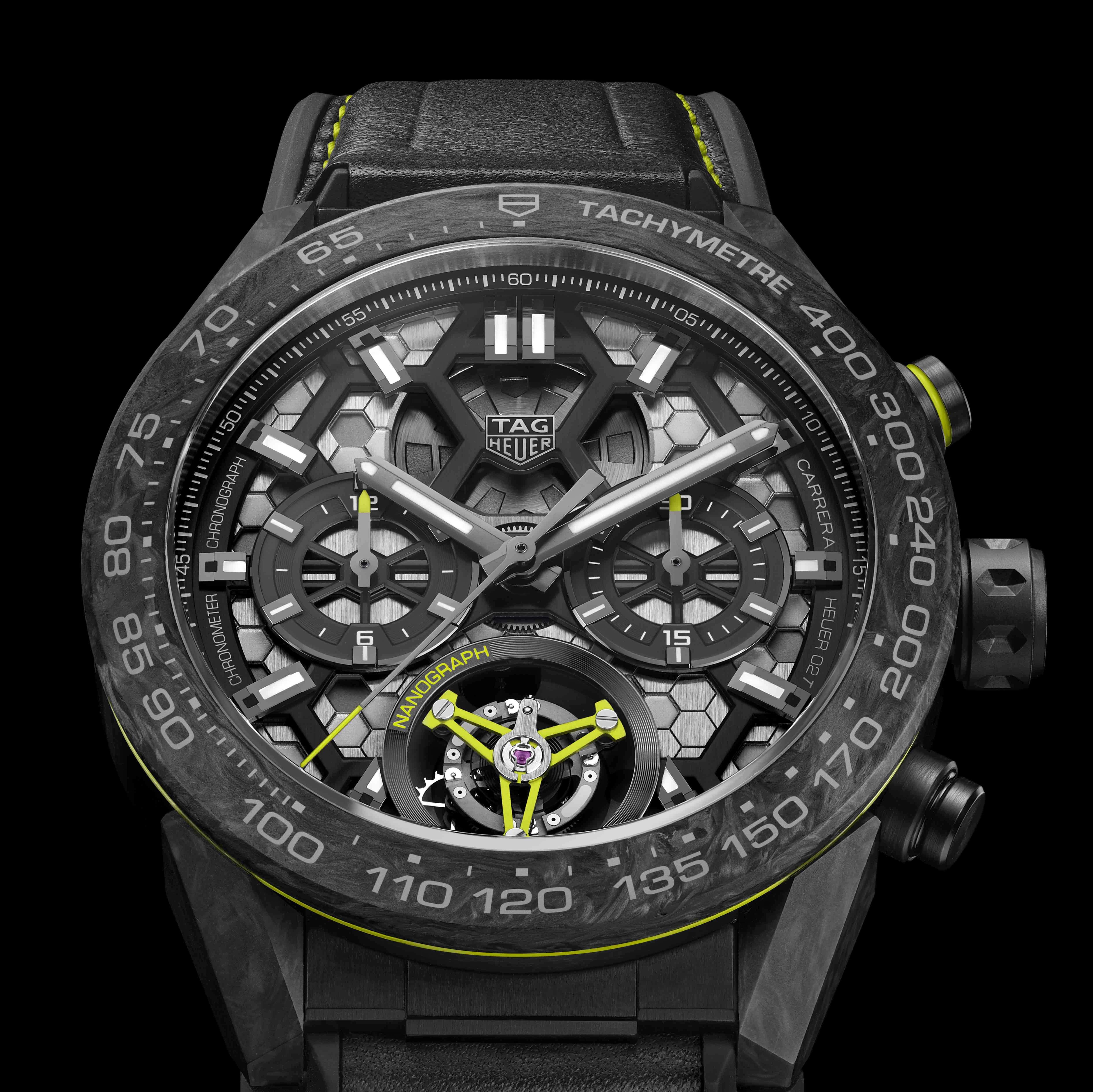 陀飛輪奈米圖騰計時腕錶─TAG Heuer 泰格豪雅正式推出嶄新巨作!