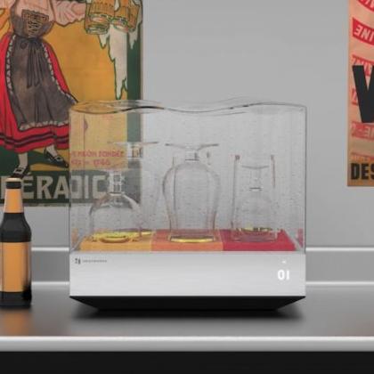 實用型禮物精選!設計感Wi-Fi洗碗機!