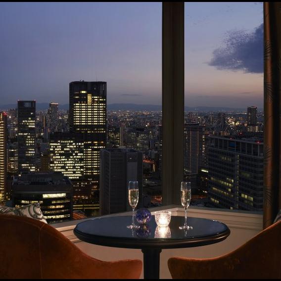 Ritz Carlton Osaka 喬治亞風格酒店內的酒店