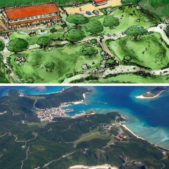 <p>感受宮崎駿的動畫詩意!沖繩久米島兒童自然公園2018年完工</p>