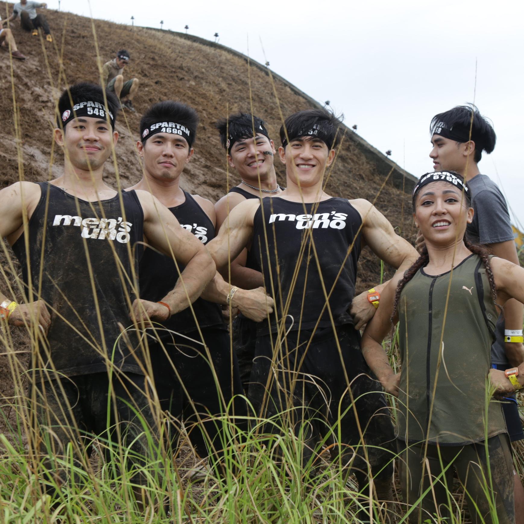 熱血沸騰!一起加入men's uno 斯巴達勇士跑團!