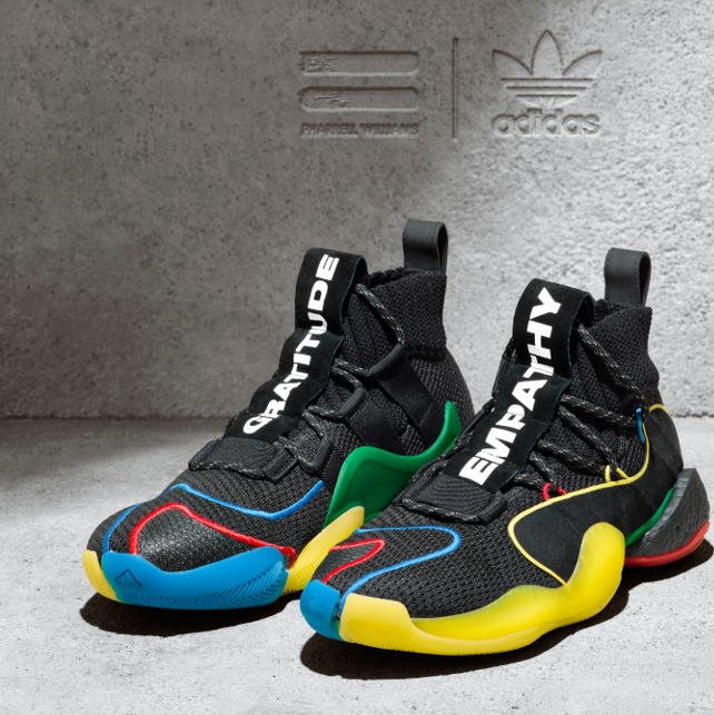 adidas Originals 重磅多彩聯名之作 Pharrell Williams CRAZY BYW LVL X
