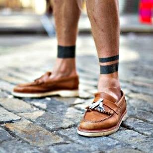腳繩都不用戴了,精選10個腳踝刺青