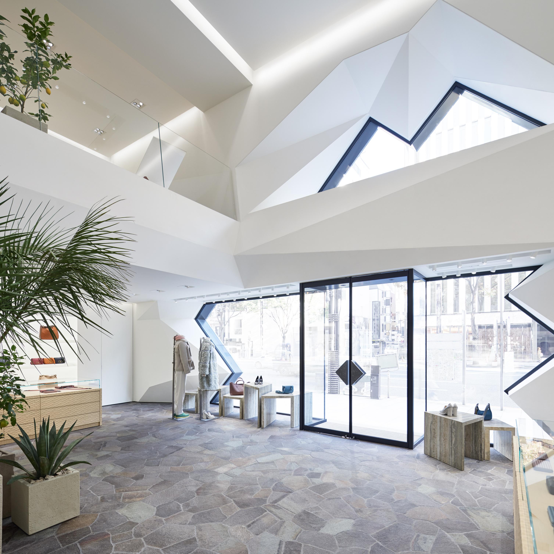 當代設計,大和底蘊─BOTTEGA VENETA 東京旗艦店隆重開幕!