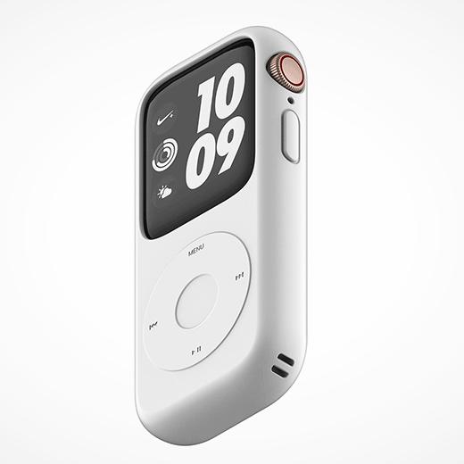 是不是很想念iPod!偽iPod外殼的Apple Watch!