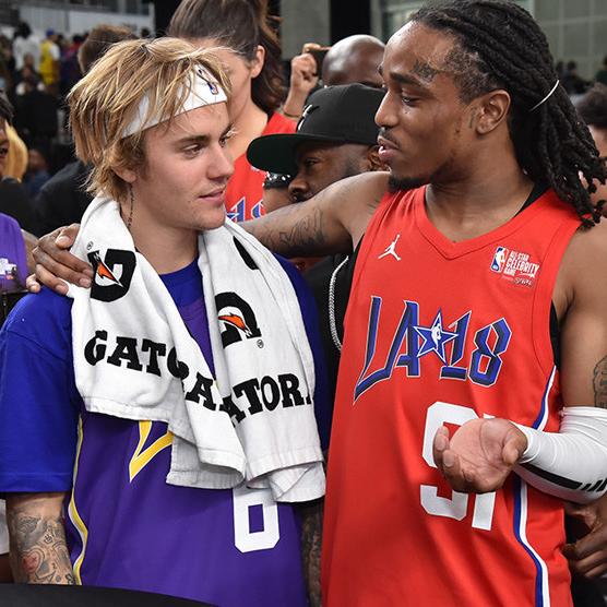 <p>9 分之差擊敗小賈斯汀、吳亦凡!饒舌歌手 Quavo 成為 2018 年 NBA 全明星名人賽 MVP</p>