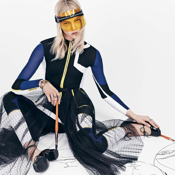 DIOR 2018 春夏系列 DiorClub1 鏡面遮陽帽,繽紛登場!