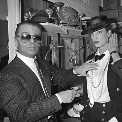 時尚精神,永不止息─「老佛爺」Karl Lagerfeld