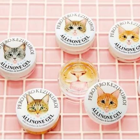 <p>伸舌頭想萌死誰!日本新推出「貓咪口水」保濕凝膠,橘貓、賓士貓共7款花色可以挑</p>