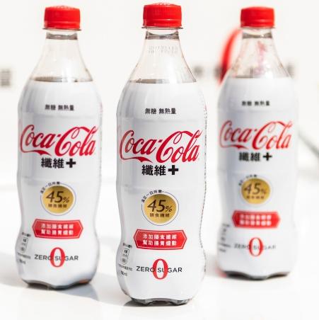 <p>無糖、無熱量、促進腸胃蠕動!「可口可樂」纖維+在台上市</p>