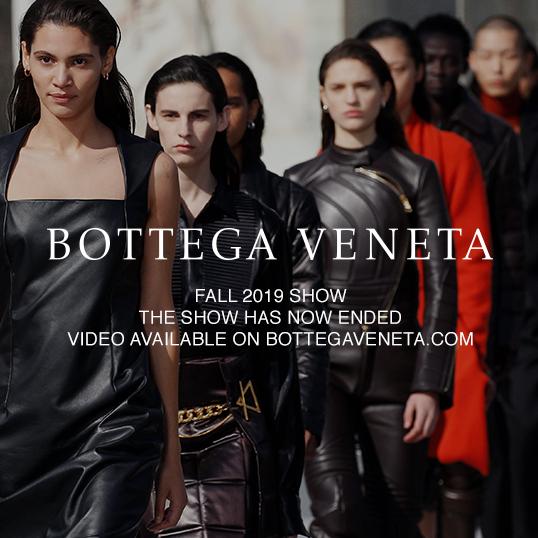 Bottega Veneta 2019 秋季男女系列時裝秀「全球同步」登場!