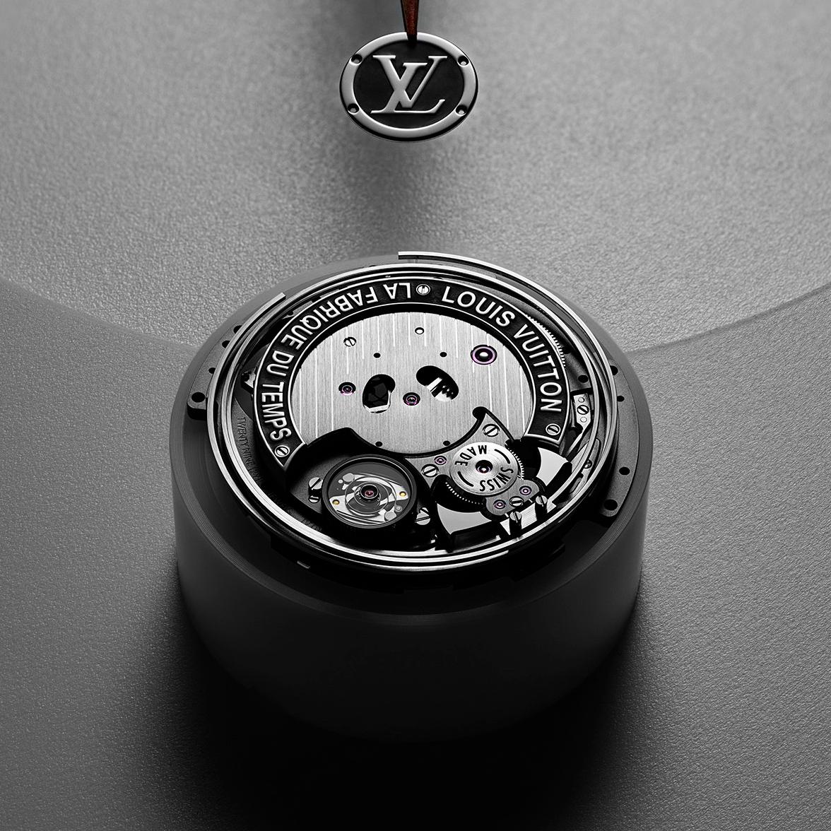 頂級製錶工藝─路易威登「Voyager」飛行陀飛輪錶款