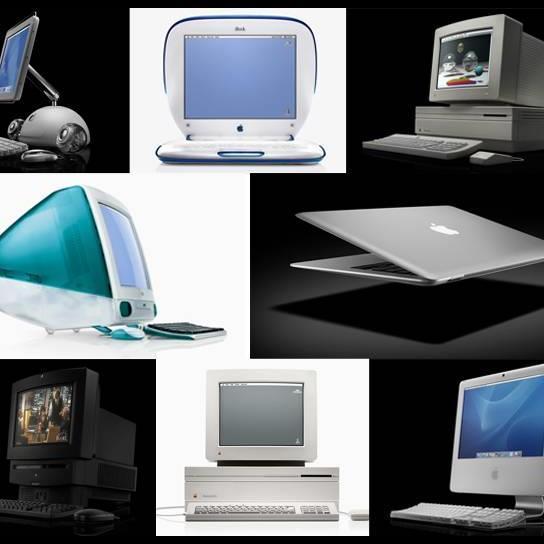 盤點!蘋果APPLE公司Mac電腦完整演進史1984~2014
