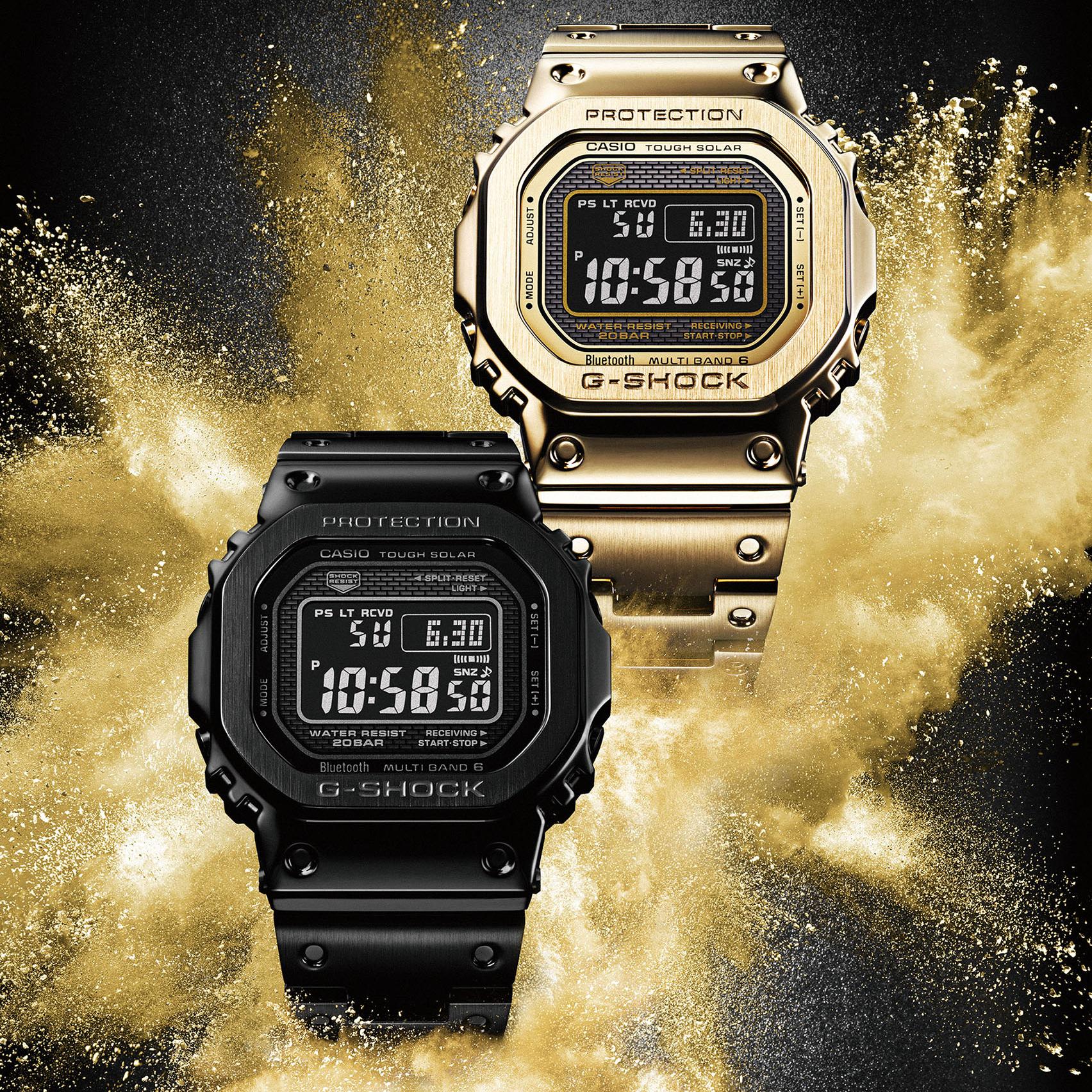 質感錶款再進化─G-SHOCK GMW-B5000 新色登場!