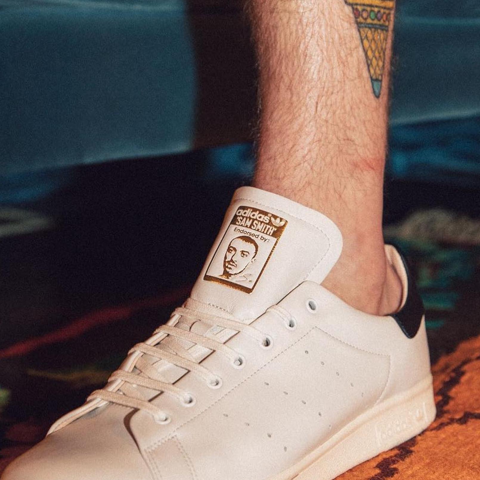 「Stan Smith」還是「Sam Smith」?adidas Originals 打造 Sam Smith 專屬 Stan Smith 鞋款!