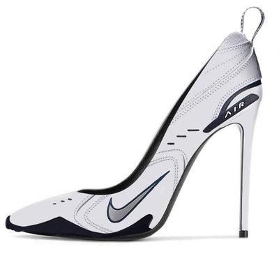 老爹鞋當道,義大利設計師設計出「老爹跟鞋」!