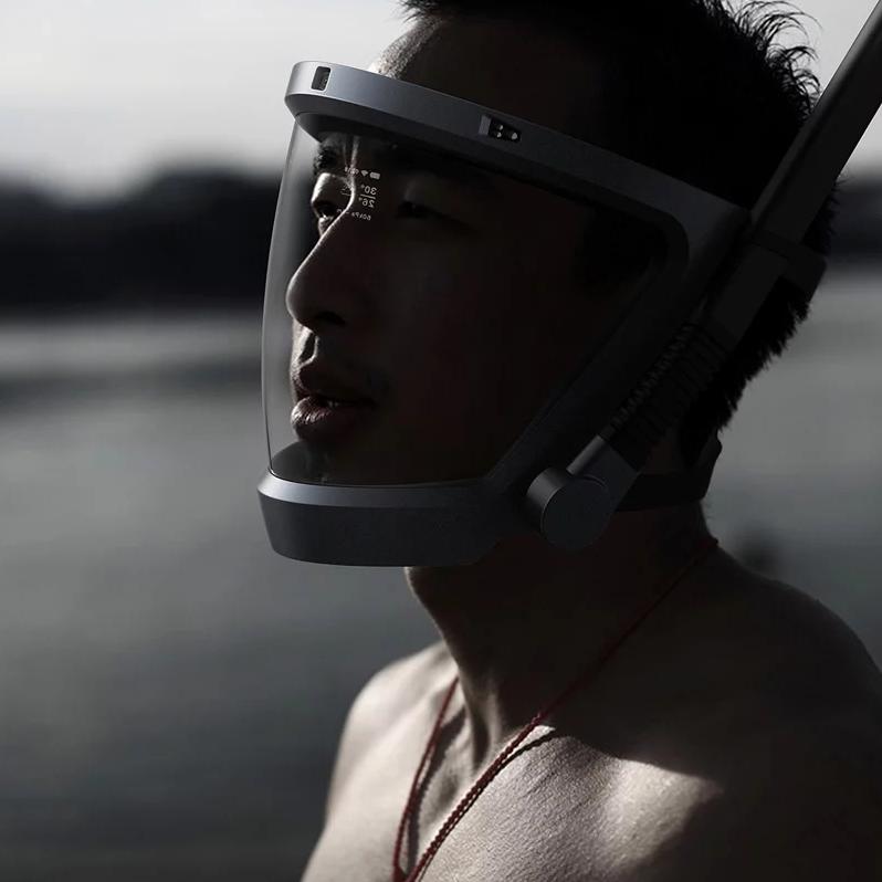 可能是世上最有型的潛水面具 未來主義的概念設計d-mask